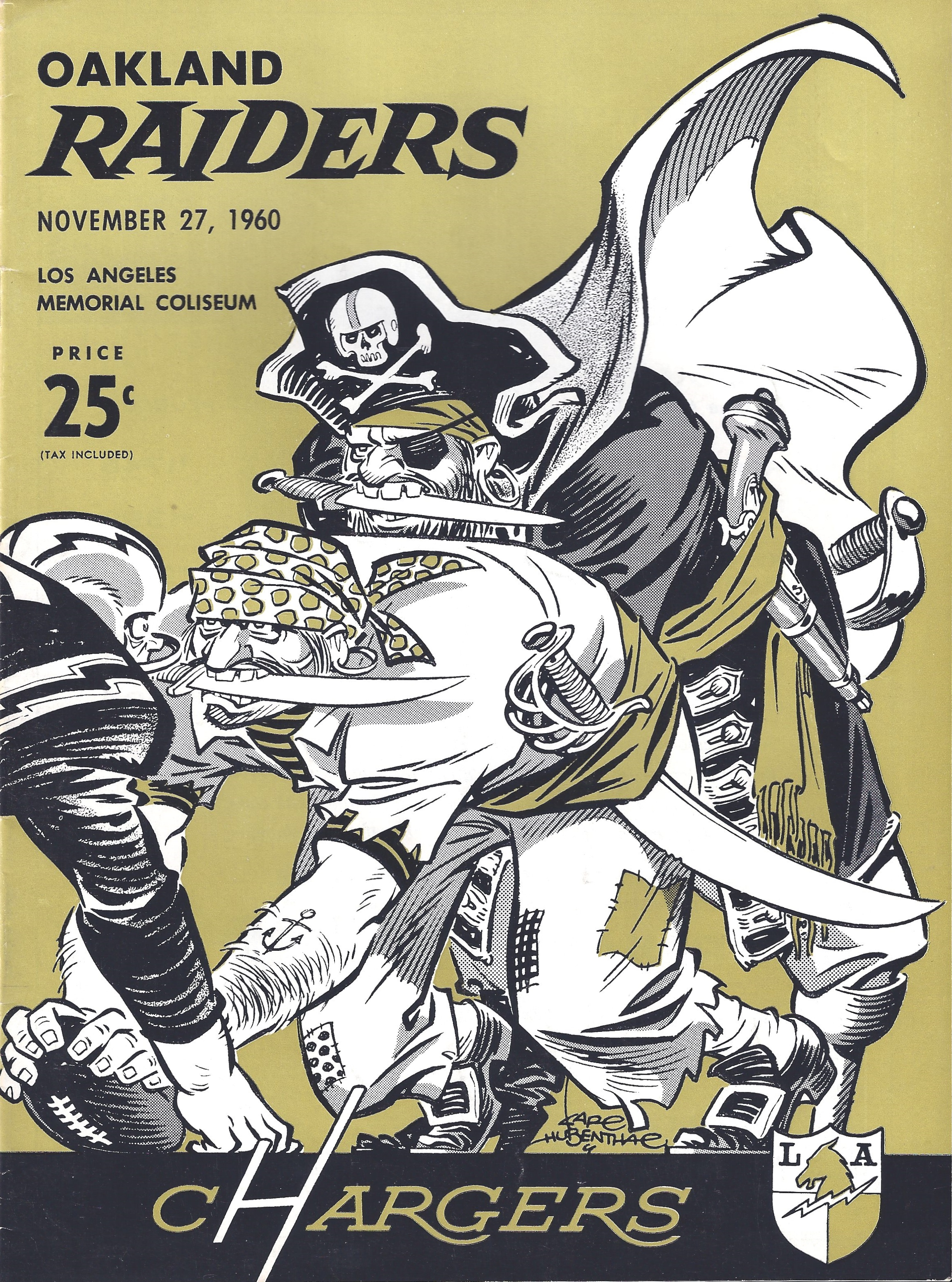 November 27 1960 Chargers Vs Raiders Tales From The Afl