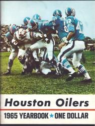 1965 oilers yearbook
