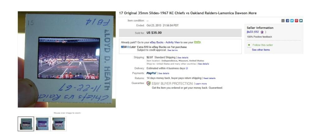 ebay purchase