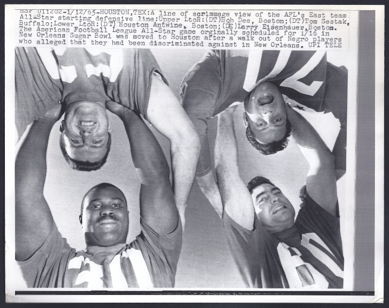 1965 all-star d-line