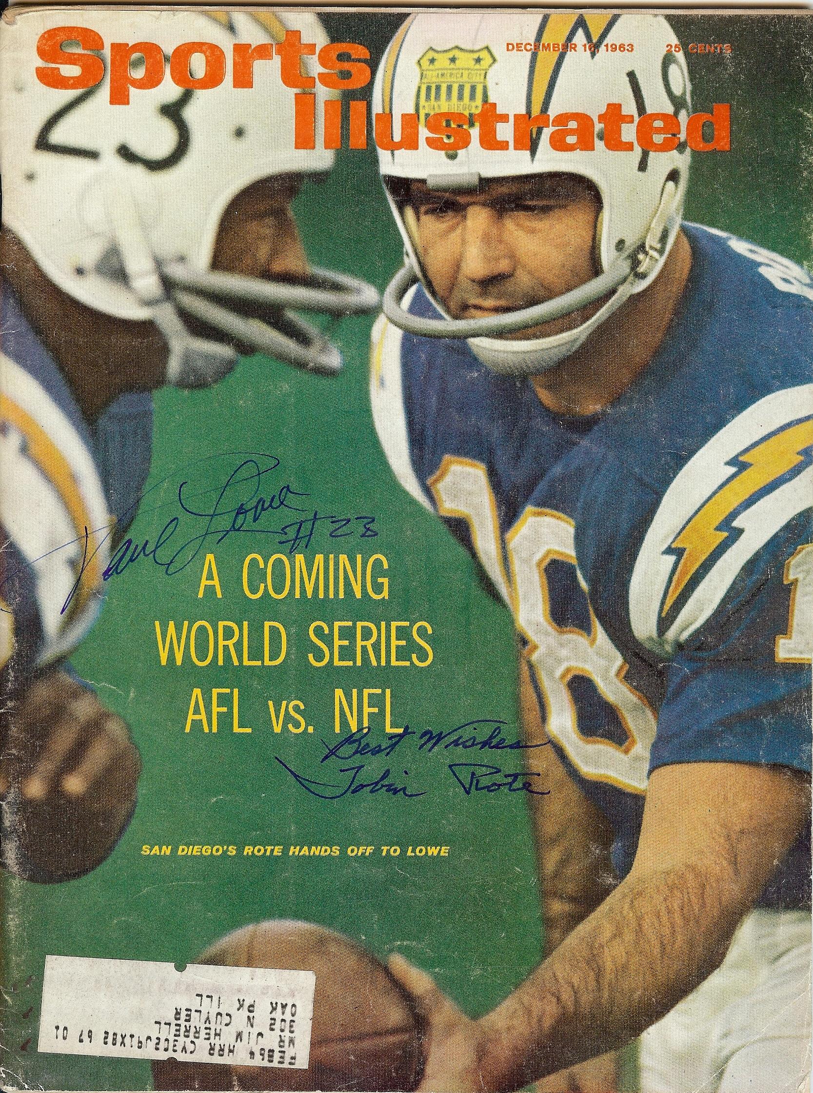 1963 sports illustrated