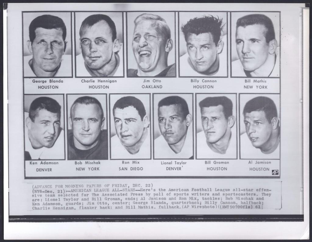 1961 afl all stars