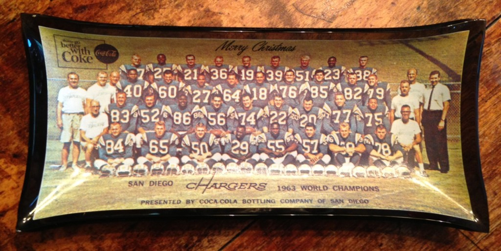 1963 chargers candy tray