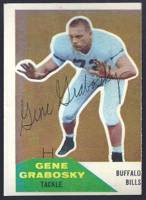 1960 fleer gene grabosky