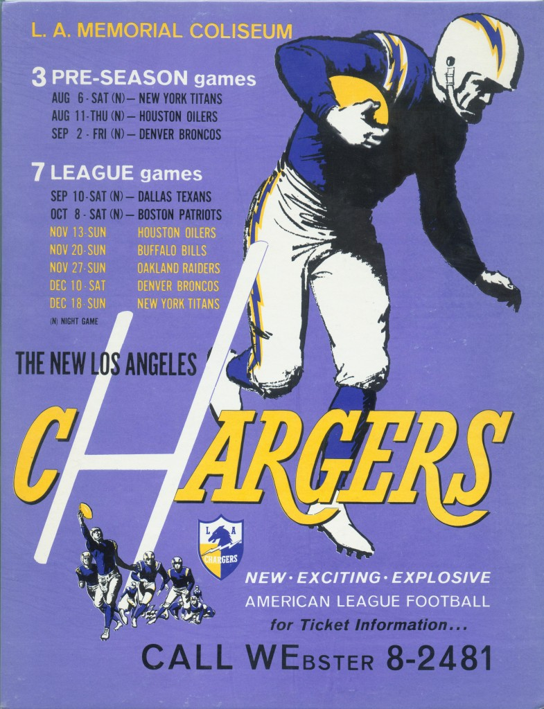 1960 chargers ticket placard