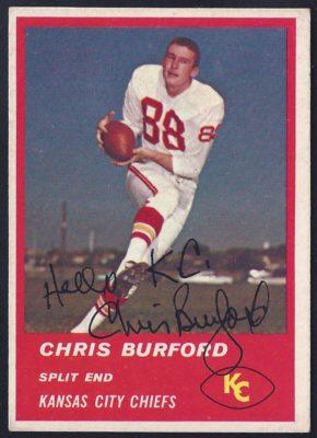 chris burford