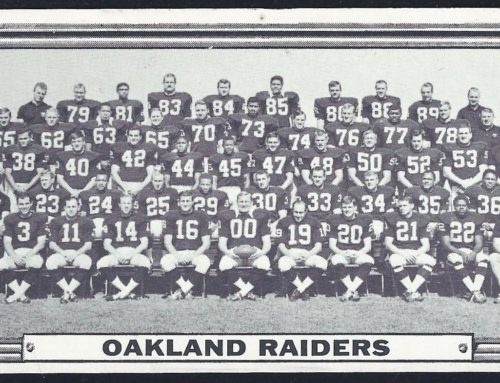 What happened to the Oakland Raiders?