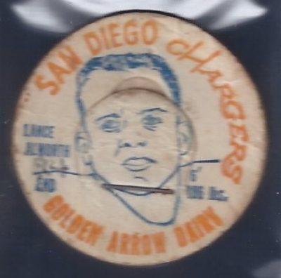 1962 Golden Arrow Dairy Milk Cap