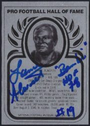 1988-Present Hall of Fame Metallic