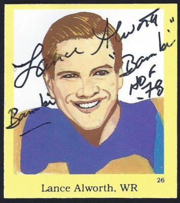 1990 Pro Football Hall of Fame Stickers