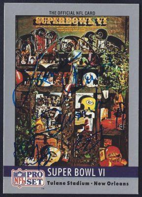 1990 Pro Set Super Bowl Programs