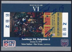 1990 Pro Set Super Bowl Tickets