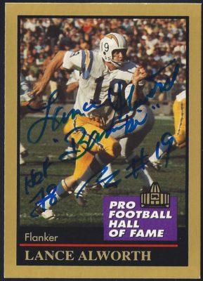 1991 ENOR Pro Football Hall of Fame