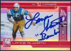 2006 Donruss Elite Passing the Torch Red 20.1