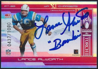 2006 Donruss Elite Passing the Torch Red 30