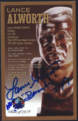 2010 Pro Football Hall of Fame - Bronze Bust Postcard