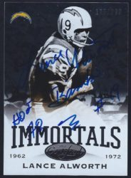 2014 Panini Certified Immortals Base.1