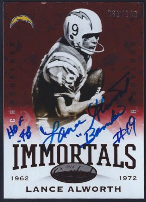 2014 Panini Certified Immortals Camouflage Red