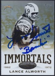 2014 Panini Certified Immortals Mirror Gold