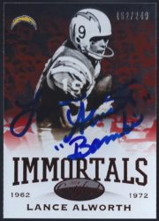 2014 Panini Certified Immortals Mirror Red