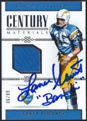 2017 Panini National Treasures Century Materials
