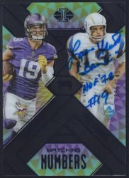 2018 Panini Illusions Matching Numbers Base