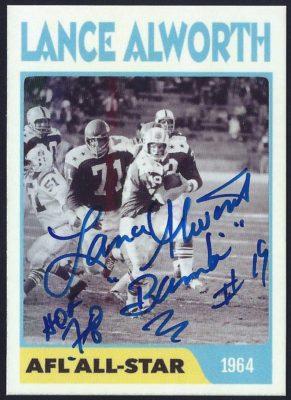 Fantasy Card - 1964 AFL All-Star
