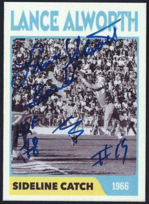 Fantasy Card - 1966 Sideline Catch