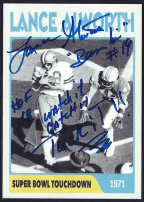 Fantasy Card - 1971 Super Bowl Touchdown