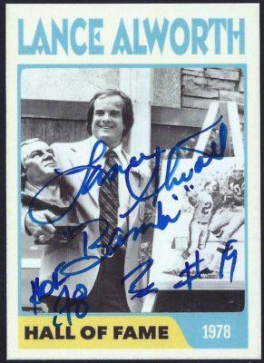 Fantasy Card - 1978 Hall of Fame